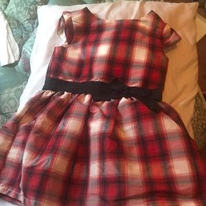 Little Girl Tartan Dress